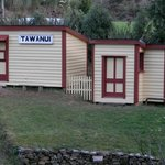 The old Tawanui Railway station may be visited at Mohua Park