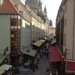 Frauenkirche from Bruhls Terrace