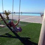 Swinging close to heaven