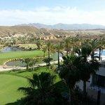 Vistas del golf desde la habitación