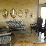 period furniture and tea parlour