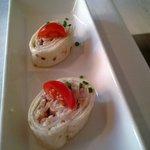 amuse-bouche aux crevettes