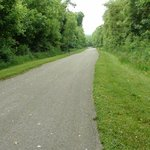 Looking South on the Tinker Creek Greenway.
