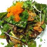 Viagra salad( sashimi salad)
