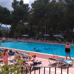The large pool next door (Hotel Tanit)