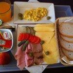 śniadanie do pokoju