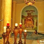 Hot tub at Fontana Aurelia Spa