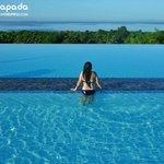 Morning shot of pool