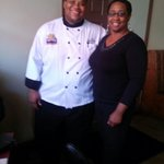 Myself and Chef Darnell