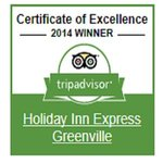 2014 Trip Advisor Certificate of Excellence Winner