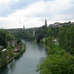 View on Berne from one of the high bridges