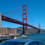 Golden Gate Bridge with Fort Point