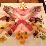 sushi especial do chef 20 peças