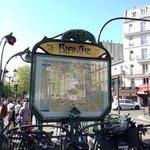 Blanche Metro Stop