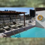 Pool Terrasse in der 11. Etage
