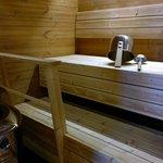 Nice sauna in the suite