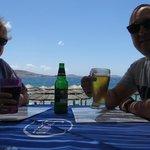 Lunch Ovelooking Agios Stephanos Beach