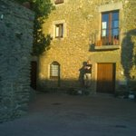 The Author in Monells Old Square
