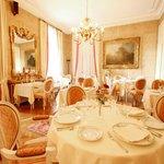 Le restaurant salon intérieur