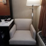 comfy chair wth foot stool
