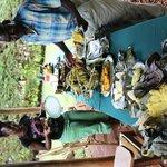 Coffee safari- BEST lunch spread of traditional Ugandan foods