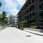 Hotel located in between Phuket Graceland Resort & soa and B-Lay Tong. Main entrance is hidden i
