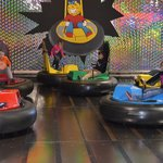 bumper cars are a great time!