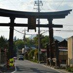 日本最古の現存木造鳥居