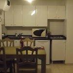 Kitchen in standard apartment