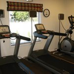 Keep fit in our fitness center - open 24-hours