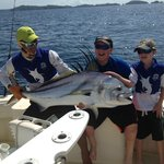 100+ lb Rooster Fish