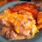 country omelette smothered