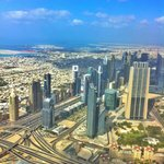 View from Burj Khalifa