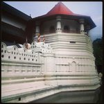Temple of the Sacred Tooth Relic is a Buddhist temple in the city of Kandy, Sri Lanka