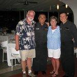 Armando & Jose, great waiters!