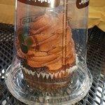 Vegan chocolate cupcake