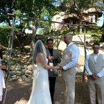 Wedding with Casa de Joy uphill