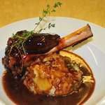 Local lamb shank