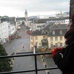 a vista para o centro de Trier