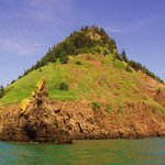 Isle Haute in the Bay of Fundy