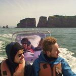 Boat Tour to Cape Split on the Bay of Fundy