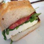 caprese sandwich!!!!!
