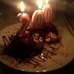 En helt spesiell dessert i anledning Grunnlovsjubileet:-)