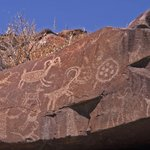 Little Petroglyph Canyon, nearby Ridgecrest