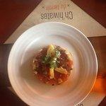 salade tomate coeur d'artichaud et citron confit
