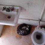 les toilettes clients