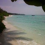 Une des plages de l'ile