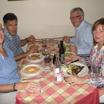 Dinner at Alle Fratte Di Trastevere