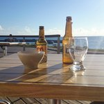 Un petit verre en terrasse.