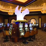 Try your luck in the High Limits slots room.